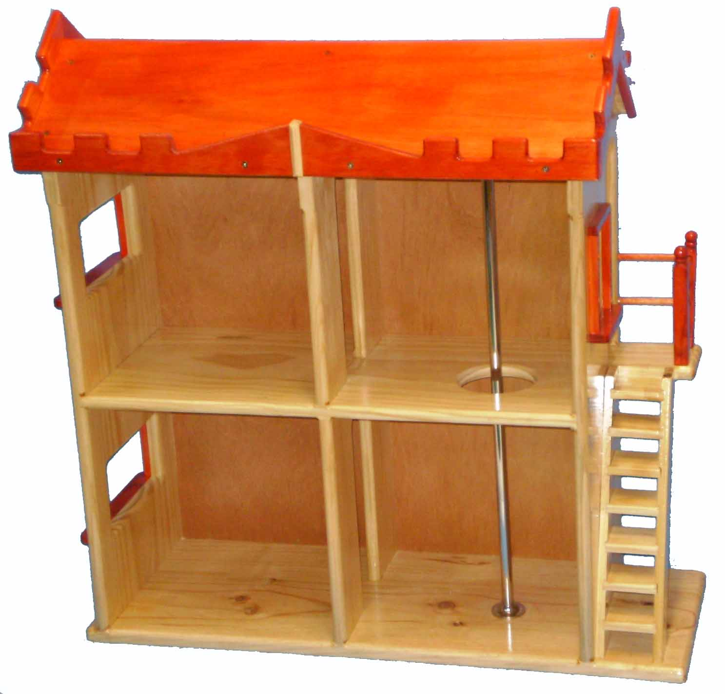 Wooden Fire Station to suit barbie plan and pattern