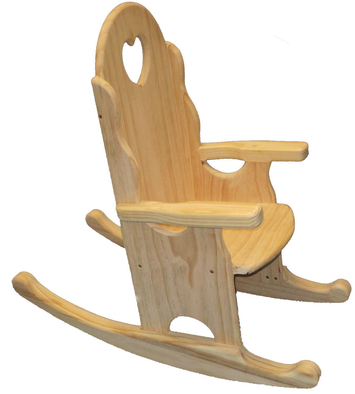 Childs rocking chair plan